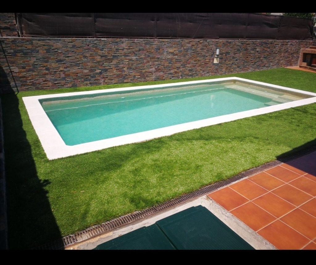 Movil piscina de obra